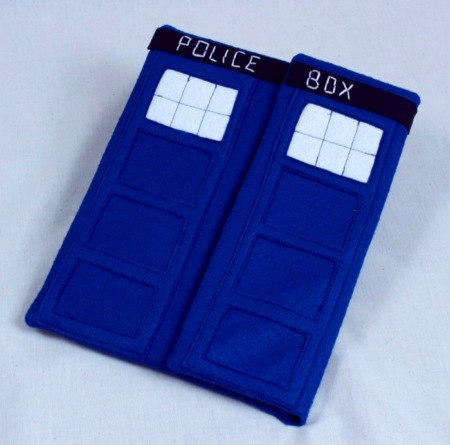 TARDIS iPad Case