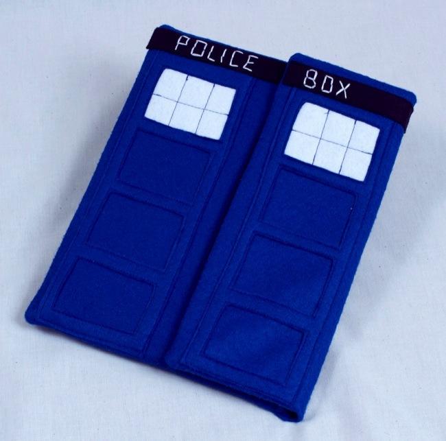 TARDIS iPad Case