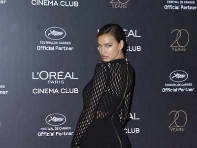 Irina Shayk vuelve a triunfar en Cannes, esta vez, con un vestido red explosivo