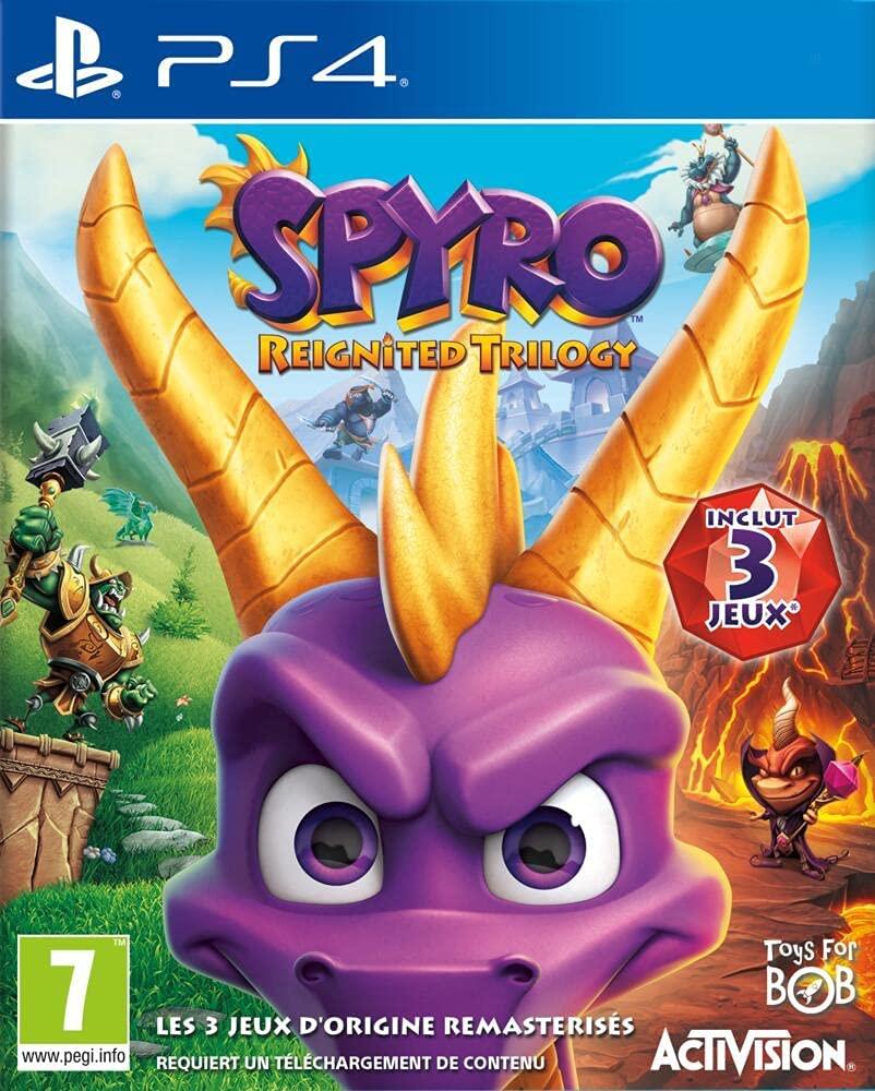 Spyro Trilogy Reignited para PlayStation 4