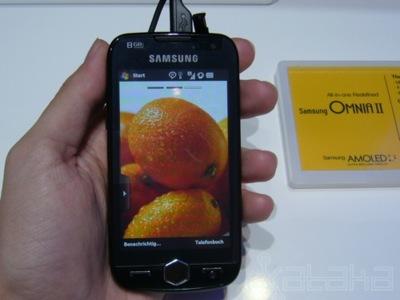 Un paseo por la IFA 2009: móviles de Samsung