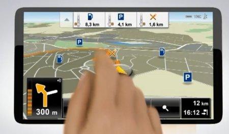 Navigon introduce un sensor de movimiento para controlar el GPS sin tocarlo