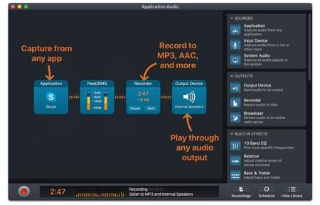 Rogue Amoeba Audio Hijack Record Any Audio On Macos