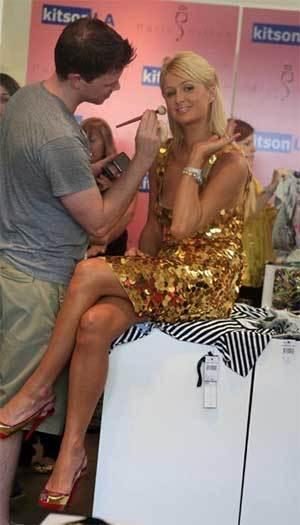 El lanzamiento de la colección de Paris Hilton