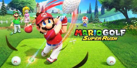 Los personajes del Reino Champiñón volverán a los campos de golf en junio con Mario Golf Super Rush
