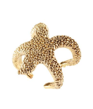 anillo estrella mar