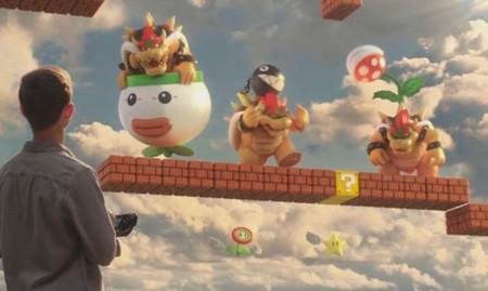 Magia pura en el comercial de Super Mario Maker