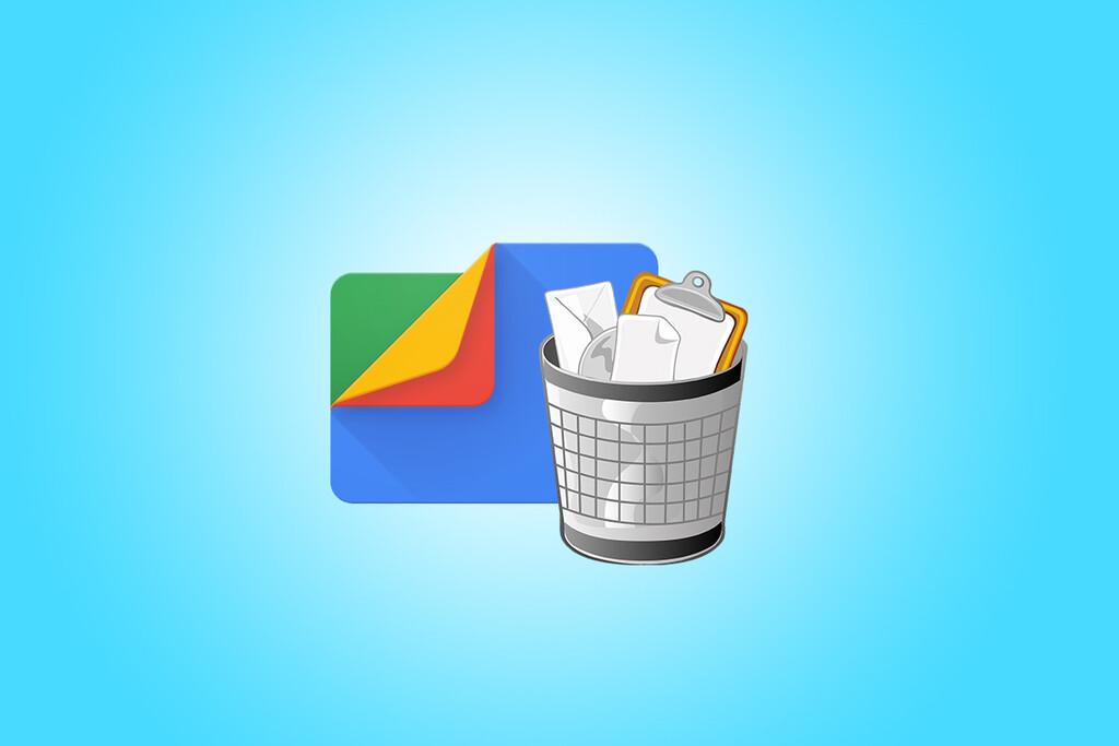 Google Files ya tiene su propia papelera de reciclaje en Android™ 12