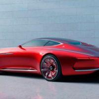 Así luce el coupé conceptual ultra lujoso de Mercedes-Maybach, el Vision 6
