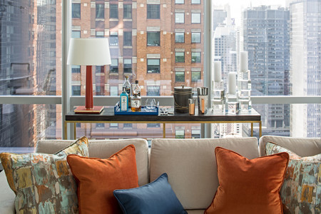 One57 Luxury Condo Holly Hunt Sofa 1