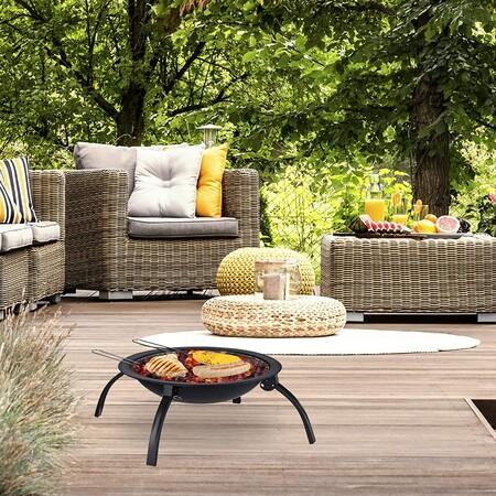 13 braseros-barbacoa para terraza, jardín y balcón: un 2 en 1 muy práctico para disfrutar del exterior todo el año