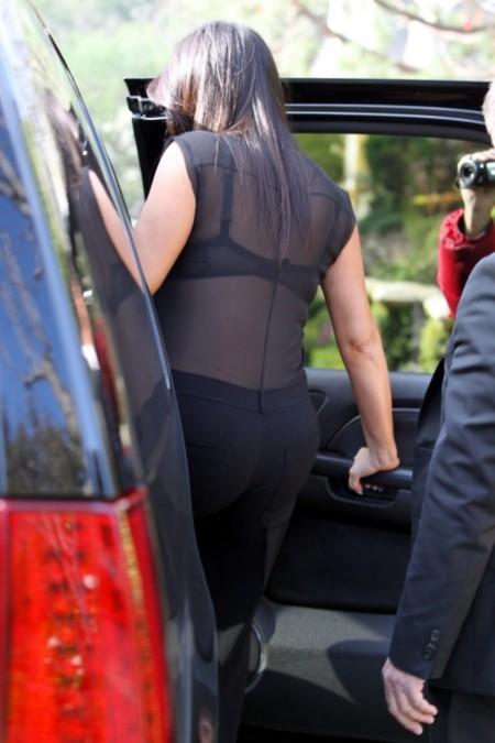 Kim Kardashian o cómo vestir lo que nunca debes vestir estando embarazada