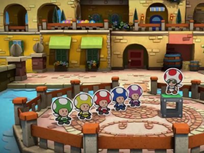 Así parodia Paper Mario Color Splash a los Power Rangers
