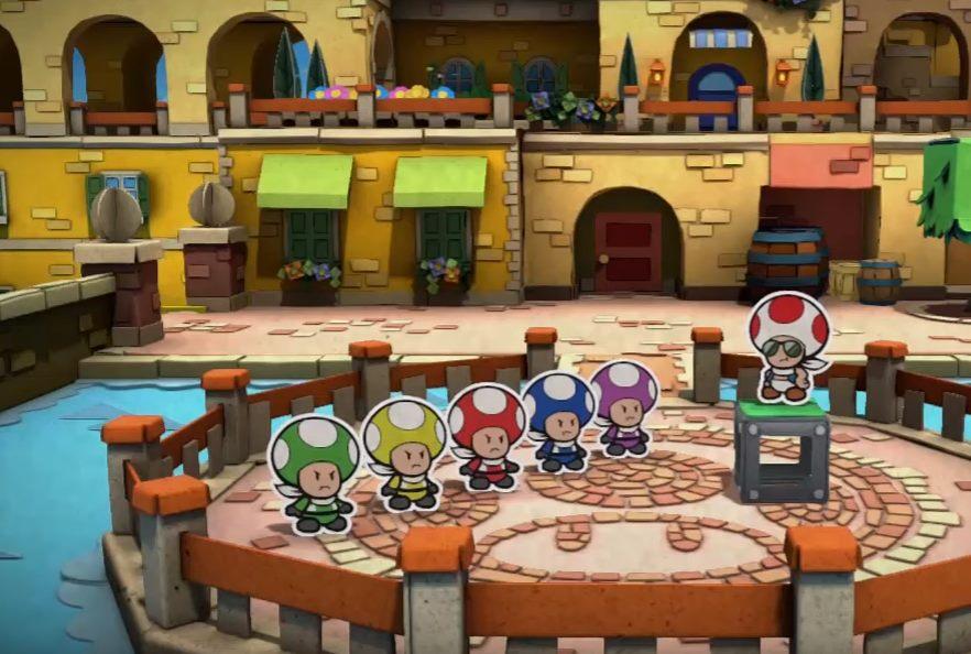 Así parodia Paper Mario Color Splash a los Power Rangers