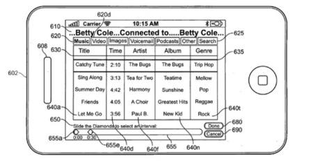 Patente de Apple para enviar archivos mientras hablamos