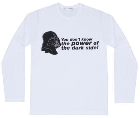Comme des Garcons Star Wars camiseta