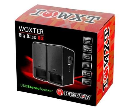Woxter  Big Bass 82, altavoces de escritorio para tu ordenador personal