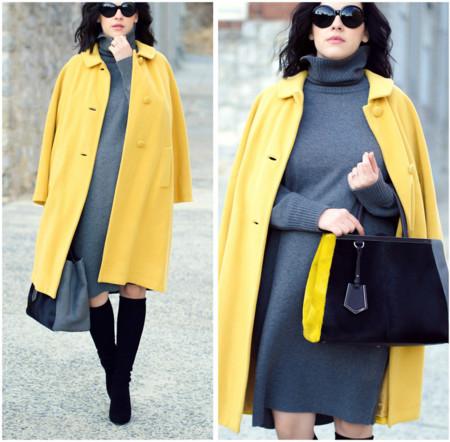 Un abrigo vistoso