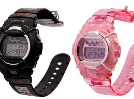 Relojes Casio Baby G de Hello Kitty
