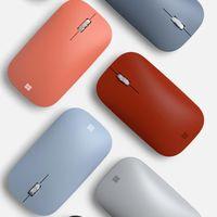 Microsoft ya tiene listo el ratón Surface Mobile en colores a juego con el renovado Surface Go 2