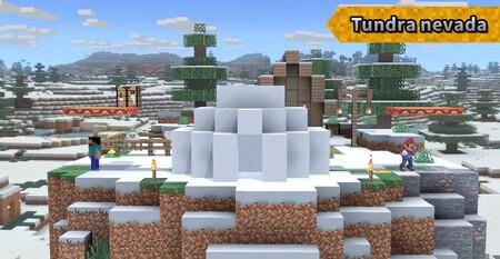 Super Smash Bros Ultimate Minecraft Etapa 05