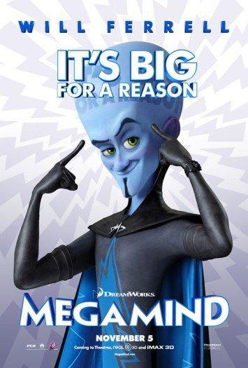 'Megamind', tráiler y primer cartel