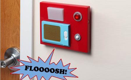 Timbre con sensor y sonidos, para que tus puertas se parezcan a las de Star Trek