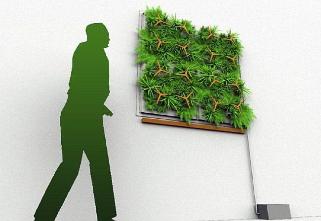 Los jardines verticales están de moda