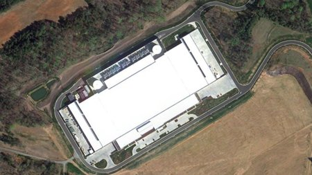 Apple Data Center North Carolina del Norte