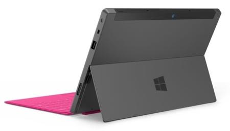 Surface Pro desde detrás