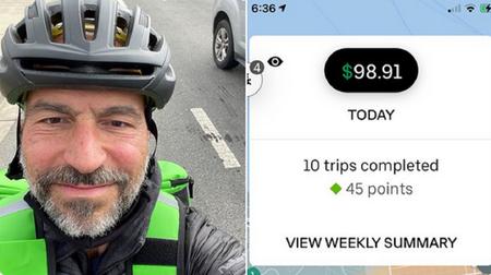 El CEO de Uber Eats salió un día a hacer el trabajo de sus riders. La cosa no terminó muy bien
