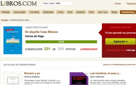 Libros.com se convierte en plataforma de crowdfunding, entrevista a Roberto Pérez