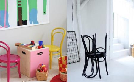 Silla Thonet dormitorio infantil