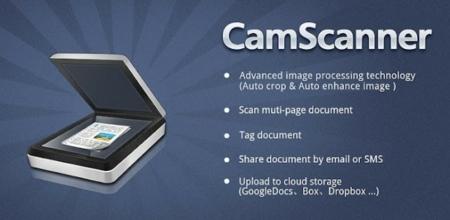 CamScanner convierte tu smartphone en un escáner de bolsillo