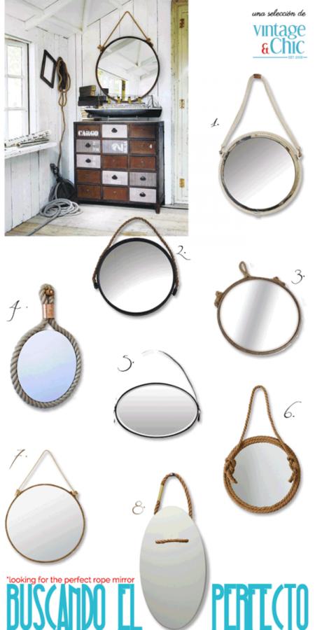 Espejos Con Cuerda Ideas Para Decorar