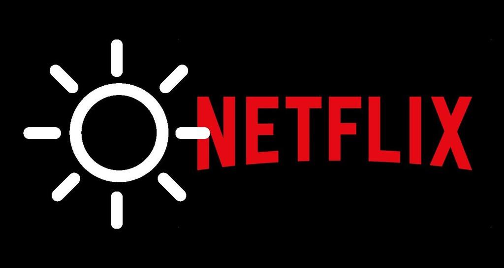 Zum ändern der helligkeit von Netflix, ohne die helligkeit zu ändern über das telefon
