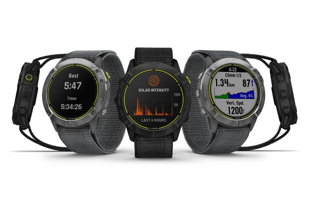 Garmin Enduro: un smartwatch resistente con autonomía de incluso 65 días con carga solar