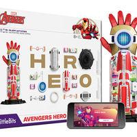 Avengers Hero de LittleBits, el increíble kit de programación que permite que los pequeños (y grandes) puedan crear superpoderes