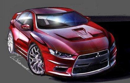 Mitsubishi publica los dibujos del Evo X