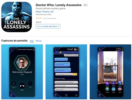 Doctor Who Lonely Assassins