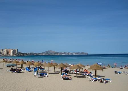 Las playas de Calpe (Alicante)