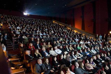 Gente en una sala de cine