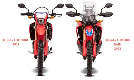 Honda Crf300l Crf300 Rally 2021