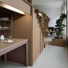 Foto 1 de 7 de la galería espacios-para-trabajar-una-oficina-de-carton en Decoesfera