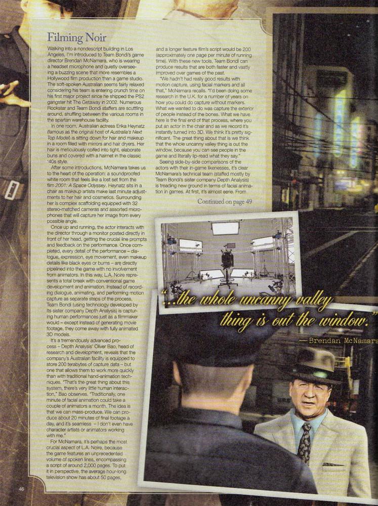 L.A. Noire - Febrero 2010