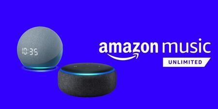 6 meses gratis de Amazon Music Unlimited al comprar un Echo Dot desde 20 euros: probablemente la mejor oferta antes del Black Friday