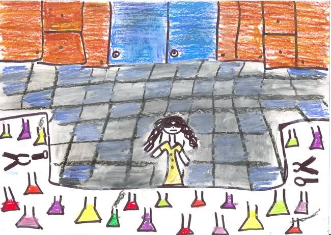 dibujar una cientifica niños estereotipos estudio