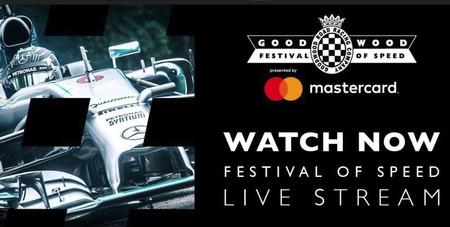 Cómo ver el Goodwood Festival of Speed 2018: streaming en directo (de jueves a domingo) y horarios, aquí