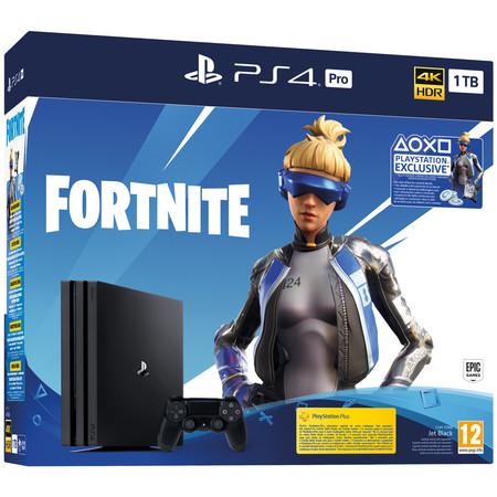 Consola Sony PlayStation 4 Pro + Fornite Voucher 2019 con 100 euros de descuento en Fnac