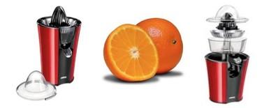 Exprimidor de naranjas en color rojo, de Princess